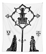 Robert De Paris And Widow Tapestry
