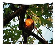Robin Waiting Tapestry