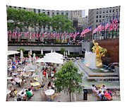 Rock Center Fourth Tapestry