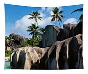 Rock Formations On The Beach, Anse Tapestry
