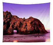 Rock Formations On The Beach, Pfeiffer Tapestry