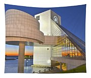 Rock Hall Sunset Tapestry