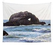 Heart Rock Near San Francisco Ca Cliff House Tapestry