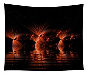 Rocket's Red Glare Bombs Bursting In Air Tapestry