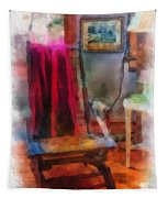 Rocking Chair Photo Art Tapestry