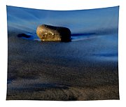 Rocks On The Beach Tapestry