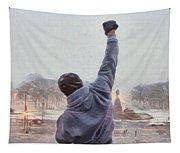 Rocky Balboa Tapestry