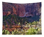 Rocky Cliff - Zion Tapestry