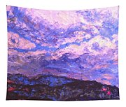 Rocky Knob Clouds Tapestry