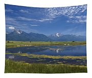 Rocky Mountain Lake Tapestry