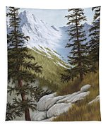 Rocky Mountain Solitude Tapestry