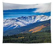 Rocky Mountains Independence Pass Tapestry