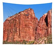 Rocky Mountains Of Zion Tapestry