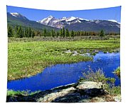 Rocky Mountains River Tapestry