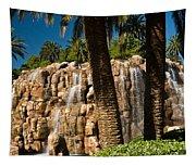Rocky Waterfall 2 Tapestry