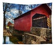 Roddy Road Covered Bridge Tapestry