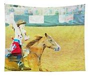 Rodeo Beauty Three Tapestry