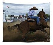 Rodeo Ladies Barrel Race 1 Tapestry