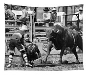 Rodeo Mexican Standoff Tapestry