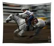 Rodeo Riding A Hurricane 1 Tapestry
