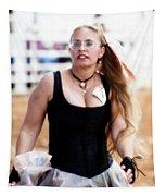 Rodeo Saloon Girl Dancing Tapestry