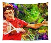 Roger Federer Tapestry