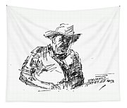 Roger In A Cowboy Hat Tapestry
