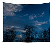 Rogue Valley Winter Eve Tapestry