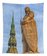 Roland Of Riga Painting Tapestry