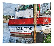 Roll Tide Stern Tapestry