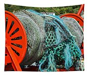 Rolled-up Nets Tapestry