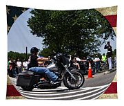 Rolling Thunder Salute Tapestry