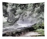 Rolling Waters Tapestry