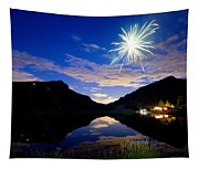 Rollinsville Yacht Club Fireworks Private Show 52 Tapestry
