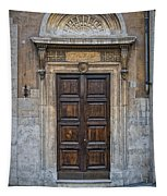Roman Doors Tapestry