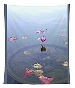 Romantic Pond Tapestry