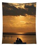Romantic Sunrise Tapestry