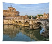Rome Castel Sant Angelo 01 Tapestry