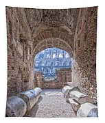 Rome Colosseum Interior 01 Tapestry