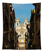 Rome, Italy. View Along Via Dei Tapestry