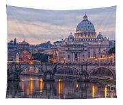 Rome Saint Peters Basilica 01 Tapestry