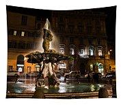 Rome's Fabulous Fountains - Fontana Del Tritone Tapestry