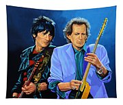 Ron Wood And Keith Richards Tapestry