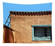 Roof Corner With Ladder And Window Tapestry