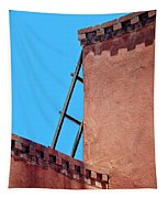 Roof Corner With Ladder Tapestry
