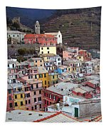 Rooftop View Tapestry