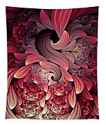 Rooster Abstract Tapestry