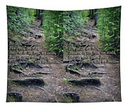 Roots - Cross Your Eyes And Focus On The Middle Image That Appears Tapestry