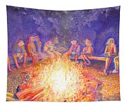 Roots Retreat Campfire Jam Tapestry