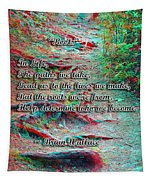 Roots - Use Red/cyan Filtered 3d Glasses Tapestry